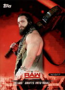 2018 WWE Road to Wrestlemania Trading Cards (Topps) Elias 33