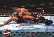 2001 WWF RAW Is War (Fleer) Chris Benoit 43