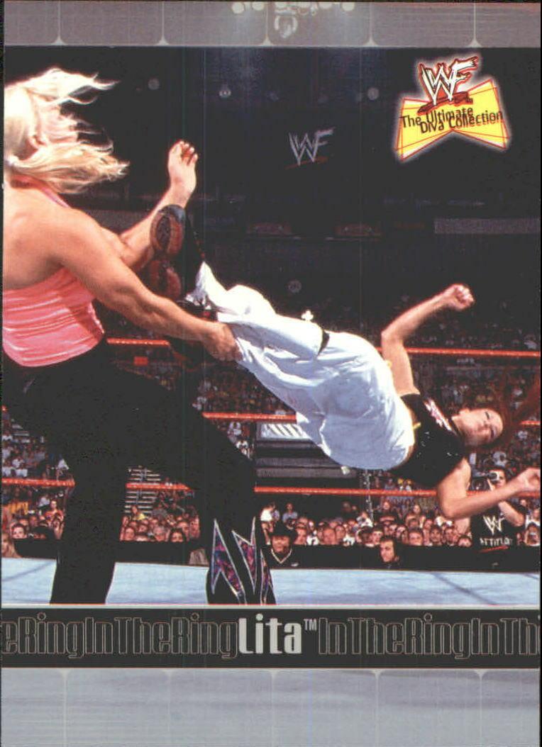 2001 WWF The Ultimate Diva Collection (Fleer) Lita (No.77)