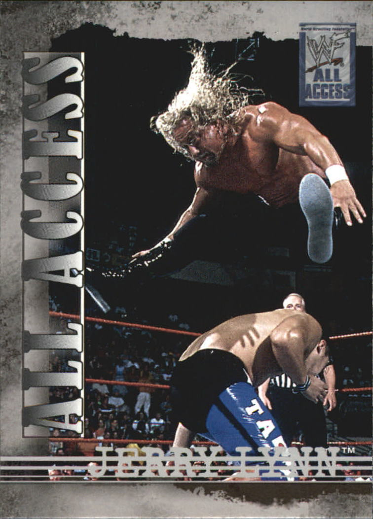 2002 WWF All Access (Fleer) Jerry Lynn (No.4)