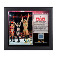 Absolution Raw Debut 15 x 17 Framed Plaque w Ring Canvas