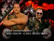 Big Show vs. Big Boss Man Armageddon 1999