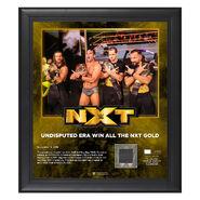 Undisputed Era NXT Champions Commemorative Plaque w Ring Canvas