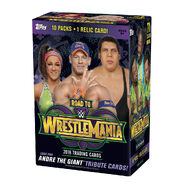 WWE Road to WrestleMania 34 Topps Cards Box Set