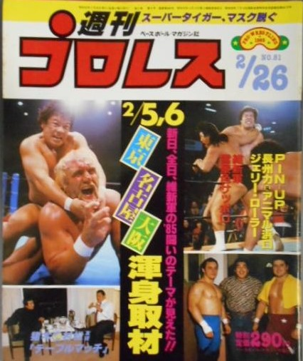 Weekly Pro Wrestling No. 81