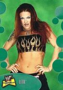 2001 WWF The Ultimate Diva Collection (Fleer) Lita 12