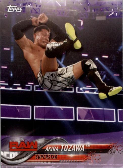 2018 WWE Wrestling Cards (Topps) Akira Tozawa (No.4)