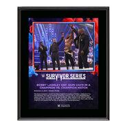 Bobby Lashley Survivor Series 2020 10 x 13 Commemorative Plaque