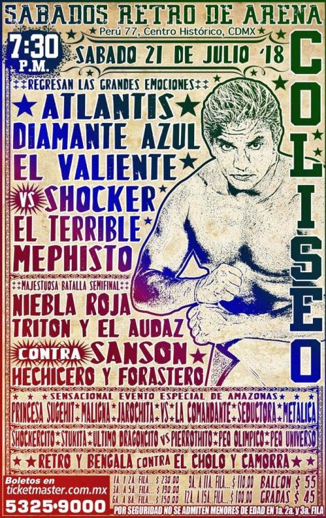 CMLL Sabados De Coliseo (July 21, 2018)