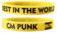 CM Punk rubber bracelet