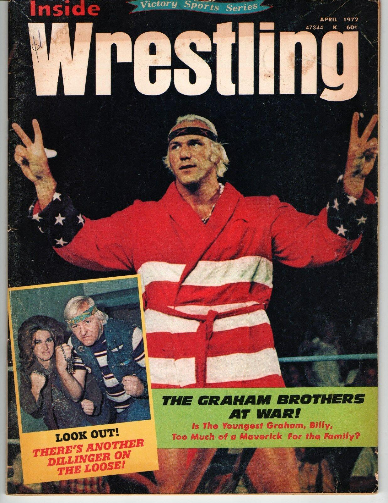 Inside Wrestling - April 1972