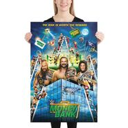 Money in the Bank 2020 24x36 Photo Paper Poster
