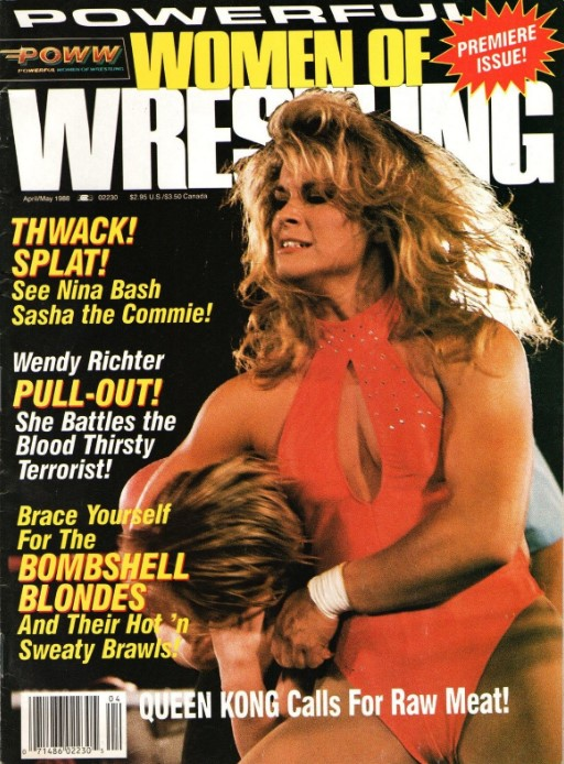 Powerful Women of Wrestling - April-May 1988