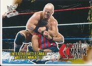 2001 WWF WrestleMania (Fleer) Enter The Rattlesnake 92