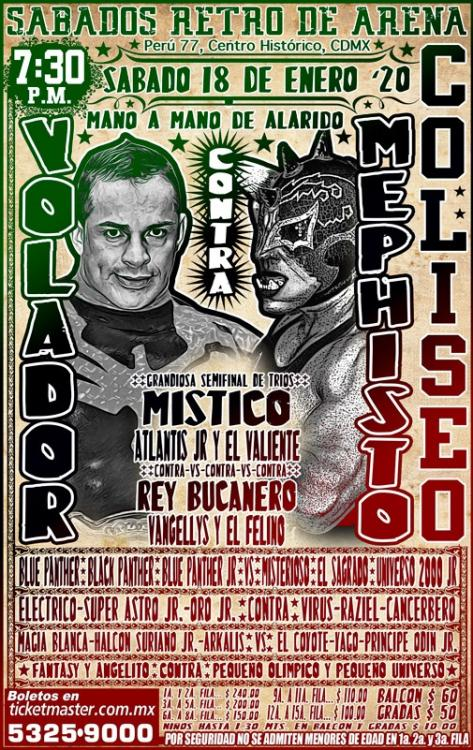 CMLL Sabados De Coliseo (January 18, 2020)