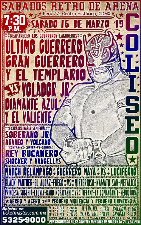 CMLL Sabados De Coliseo (March 16, 2019)
