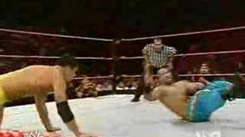 Cody Rhodes Vs Davari - WWE Raw July 30th 2007