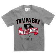 WrestleMania 36 Sports Style Youth Grey T-Shirt