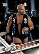 2017 WWE (Topps) Then, Now, Forever Stone Cold Steve Austin 197
