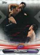 2019 WWE Raw Wrestling Cards (Topps) Hideo Itami 81