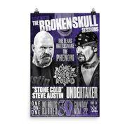 Broken Skull Sessions Undertaker 24x36 Poster