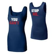 John Cena You Can't Stop Me Blue Women's Tank Top