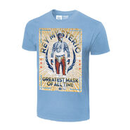 Rey Mysterio G.M.O.A.T. Poster Authentic T-Shirt