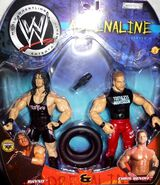 WWE Adrenaline Series 4 Chris Benoit & Rhyno
