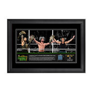 WWE Money In The Bank 2016 The Shield 13 x 21 Frame