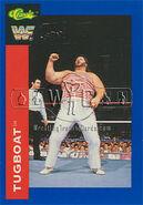 1991 WWF Classic Superstars Cards Tugboat 120