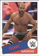 2015 WWE Heritage Wrestling Cards (Topps) Cesaro 96