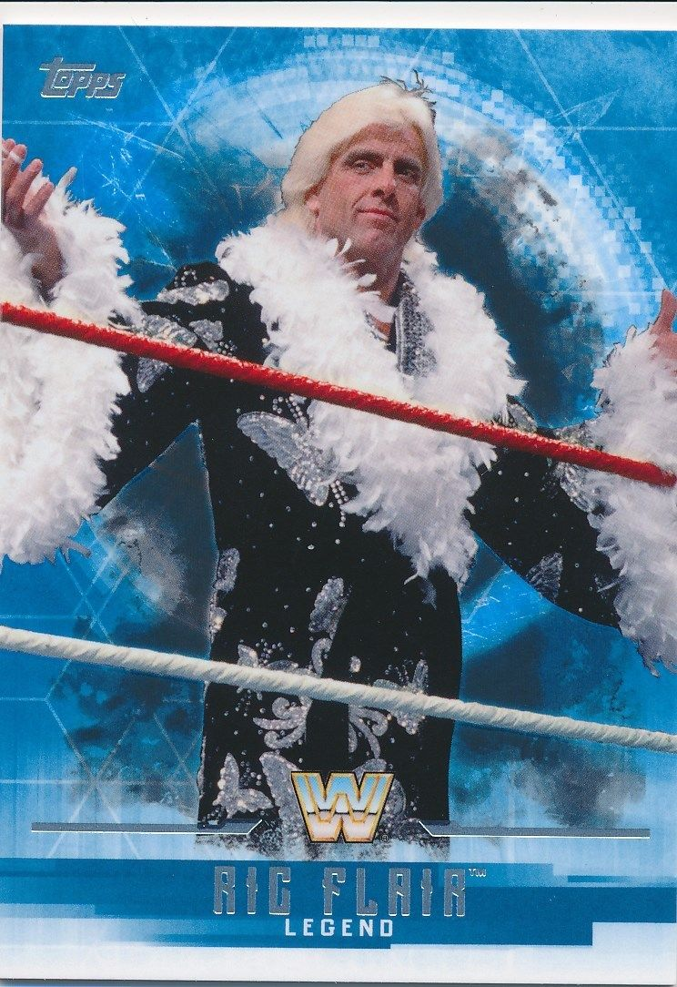 2017 WWE Undisputed Wrestling Cards (Topps) Ric Flair (No.65)