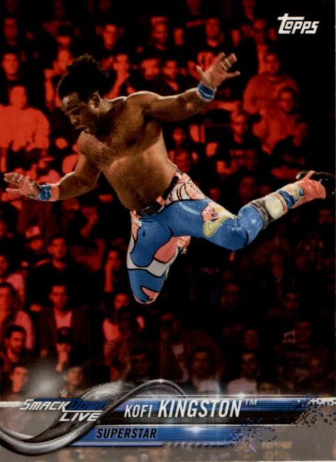 2018 WWE Wrestling Cards (Topps) Kofi Kingston (No.48)