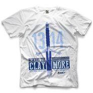 Drew McIntyre Scottish Dragon White T-Shirt