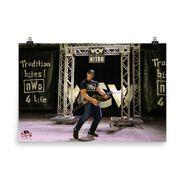 John Cena WrestleMania 36 nWo Photo Poster