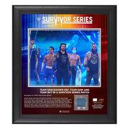 Team SmackDown Survivor Series 2019 15x17 Limited Edition Plaque