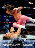 2018 WWE Road to Wrestlemania Trading Cards (Topps) Dolph Ziggler 57