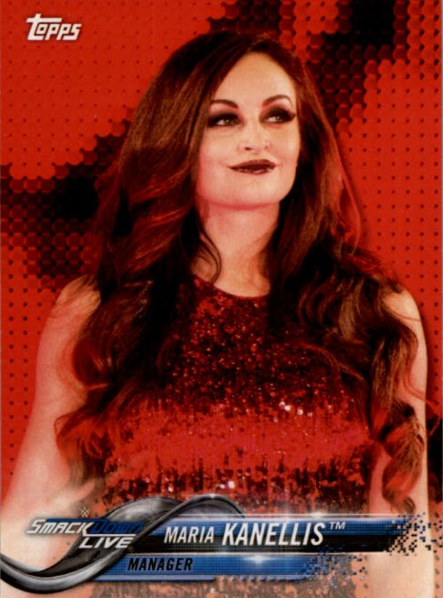 2018 WWE Wrestling Cards (Topps) Maria Kanellis (No.53)