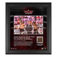 Roman Reigns TLC 2020 15 x 17 Commemorative Plaque