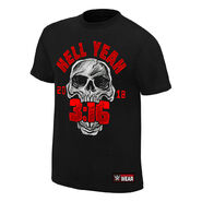 Stone Cold Steve Austin Hell Yeah T-Shirt