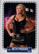 2008 WWE Heritage IV Trading Cards (Topps) Beth Phoenix 57