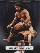 2010 WWE Platinum Trading Cards Jimmy Superfly Snuka 27