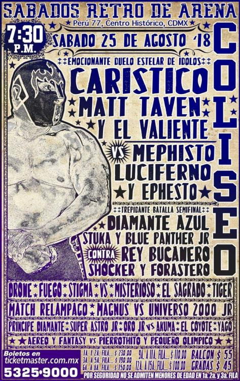 CMLL Sabados De Coliseo (August 25, 2018)