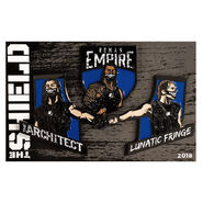 The Shield WrestleMania 34 3-Pack Portrait Pins