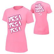 Daniel Bryan Rise Above Cancer Pink Women's T-Shirt