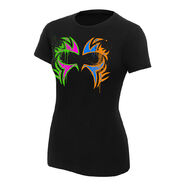 The Usos Play Hard in the Paint Women's Authentic T-Shirt