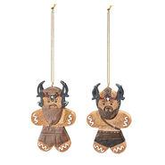 Viking Raiders Gingerbread Ornament Set