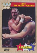 2017 WWE Heritage Wrestling Cards (Topps) Jake Roberts 78
