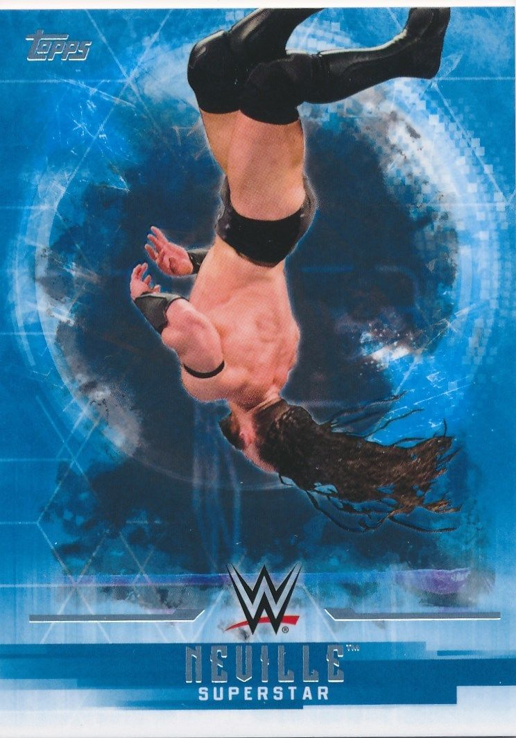 2017 WWE Undisputed Wrestling Cards (Topps) Neville (No.26)