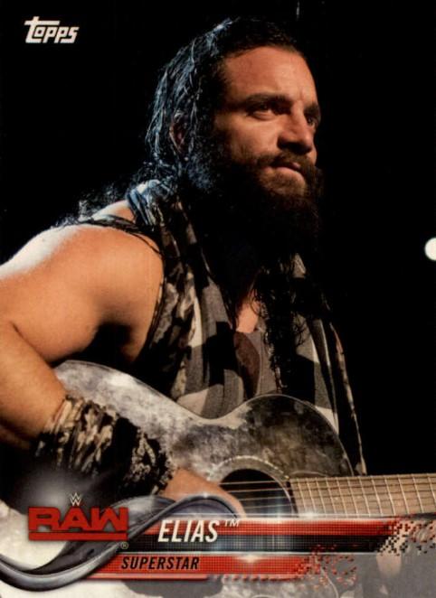 2018 WWE Wrestling Cards (Topps) Elias (No.31)